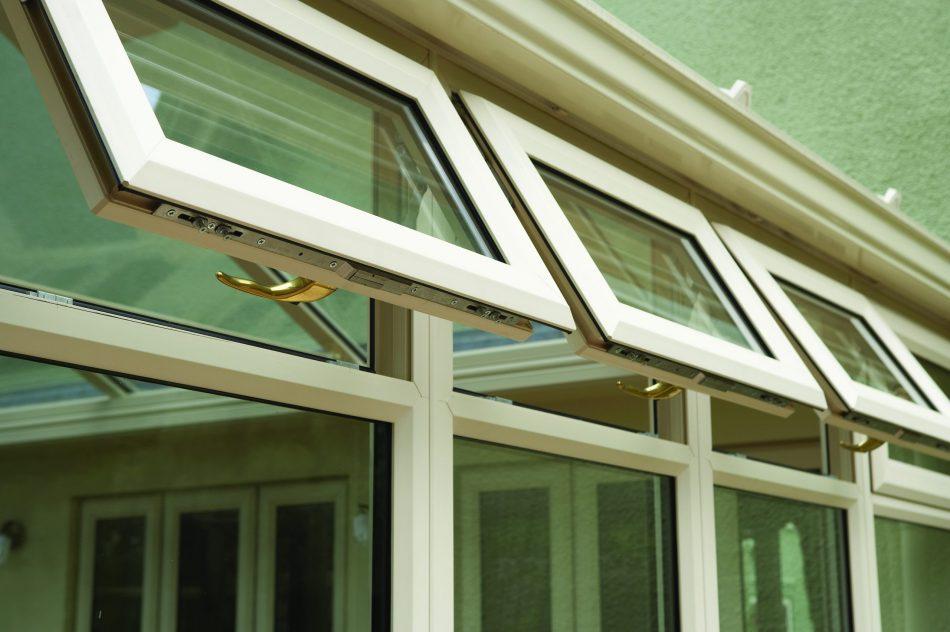 Eurocell white uPVC windows