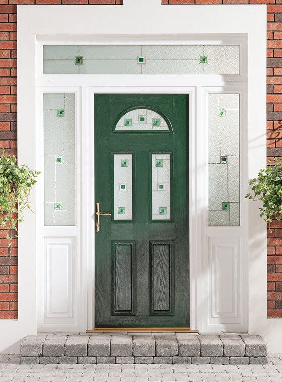 Green Apeer composite door