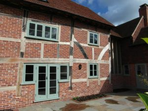 Green Timber Windows house installation