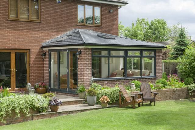 Prefix tiled roof conservatory