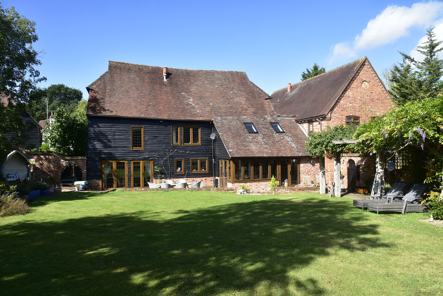 Grade 2 listed granary conversion in Wokingham.